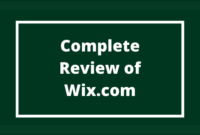 Wix Complete Review